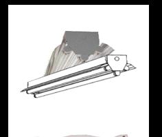 "Hi-Temp Industrial ""V"" Series 3 LED Light Fixture (AC/DC combo)"